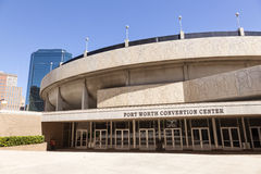 Fort Worth Convention Center Texas USA Arkivbilder