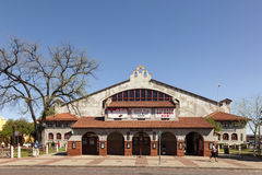 Fort Worth Cowtown Coliseum at the Stockyards Stock Image