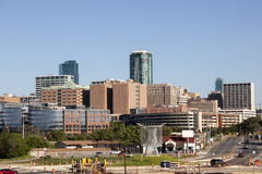 Fort Worth Downtown View. View of the Fort Worth Downtown. Texas, United States Stock Photo