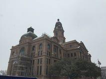 Fort Worth-Gericht-Ansicht Lizenzfreies Stockfoto