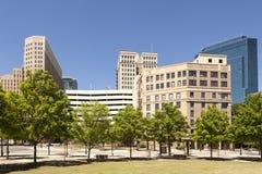 Fort Worth i stadens centrum område Texas USA Arkivfoton