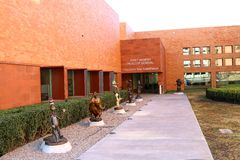 Fort Worth muzeum szkoła Zdjęcia Royalty Free