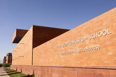 Fort Worth muzeum szkoła Teksas, usa Fotografia Royalty Free