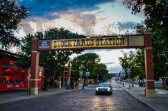 Fort Worth Stockyards obrazy royalty free