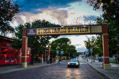 Fort Worth Stockyards Royalty Free Stock Images