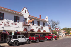Fort Worth Stockyards Historic District. TX, USA Stock Images