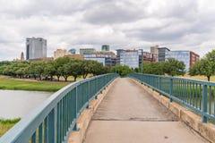 Fort Worth, Teksas linia horyzontu zdjęcia royalty free