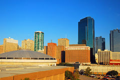 Fort Worth Texas. Is one of the larger cities in the Lone Star State stock photos