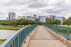 Fort Worth, Texas Skyline fotografie stock libere da diritti