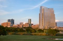 Fort Worth van de binnenstad Royalty-vrije Stock Foto's