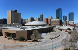 Fort Worth. A view of the skyline of Fort Worth, Texas stock images