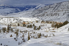 Fort Yellowstone landscape Royalty Free Stock Photos
