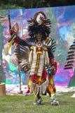 Fort York, Toronto - Juli 25, 2015 - Inheemse Amerikaanse uitvoerders royalty-vrije stock afbeeldingen