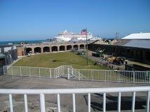 Fort Zachary Key West  Arkivbild