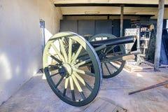 Fort Zachary Taylor Cannon lizenzfreie stockbilder