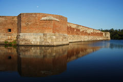 Fort Zachary Taylor Historic State Park. The formidable Fort Taylor in Key West, Florida Royalty Free Stock Image