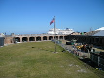 Fort Zachary  key west Royalty Free Stock Photography