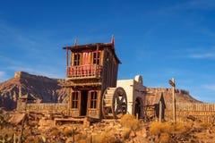 Fort Zion auch bekannt als die Jungfrau-Handelsstation Stockfotografie