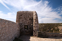 Forta de Santo Antonio de Belixe; Sagres; Potugal Royalty Free Stock Photos