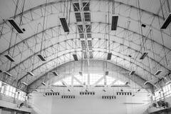 Fortalecedor de plantas del tejado de la hoja de metal Imagen de archivo libre de regalías