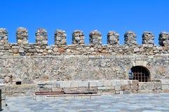 Fortalecimiento: Castillo veneciano (Koules), en Crete, foto de archivo