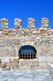 Fortalecimiento: Castillo veneciano (Koules), en Crete. foto de archivo