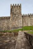 Fortalecimiento de la ciudad de la pared de Fernandina en Oporto Fotografía de archivo