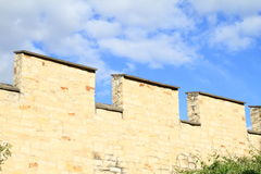 Fortalecimiento en la colina Petrin en Praga Imágenes de archivo libres de regalías