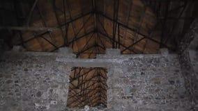 Fortalecimiento fuerte preservado del famagusta de la ciudad almacen de metraje de vídeo