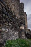 Fortalecimiento georgiano antiguo del castillo de Khertvisi fotografía de archivo