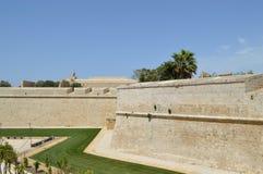 Fortalecimiento Malta de Rabat Fotos de archivo libres de regalías