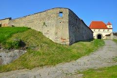 Fortalecimiento y castillo medievales viejos Riegersburg Fotos de archivo