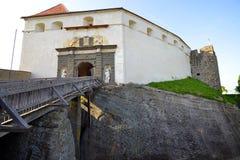 Fortalecimiento y castillo medievales viejos Riegersburg, Austria Fotos de archivo libres de regalías