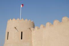 Fortaleza árabe Imágenes de archivo libres de regalías