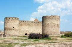 Fortaleza Akkerman, Ucrânia Fotos de Stock Royalty Free