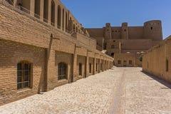 Fortaleza alexander el gran Afganistán imagen de archivo libre de regalías