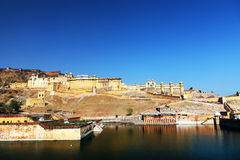 Fortaleza ambarina en Jaipur Fotos de archivo libres de regalías