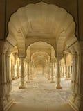 Fortaleza ambarina - Jaipur - la India Fotos de archivo libres de regalías