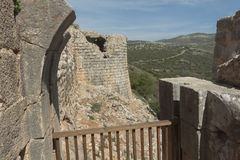 Fortaleza antiga de Nimrodâs Foto de Stock