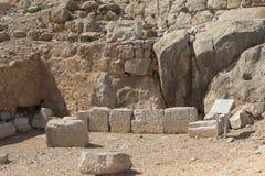 Fortaleza antiga de Nimrodâs Imagens de Stock