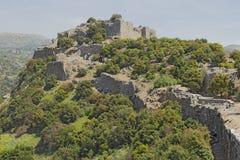 Fortaleza antiga de Nimrodâs Imagens de Stock Royalty Free