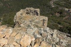 Fortaleza antiga de Nimrodâs Fotos de Stock Royalty Free