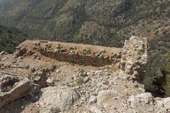 Fortaleza antiga de Nimrodâs Fotos de Stock