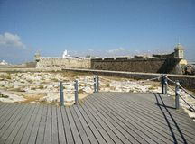 Fortaleza antiga em Portugal Foto de Stock Royalty Free