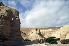 Fortaleza antiga Neve Zohar Imagem de Stock Royalty Free