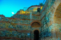 Fortaleza antiga Pautalia fotos de stock