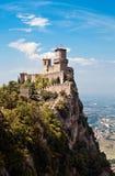 Fortaleza antigua de San Marino Fotos de archivo