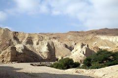 Fortaleza antigua Neve Zohar imagen de archivo