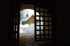 Fortaleza antigua Staraya Ladoga imagen de archivo libre de regalías