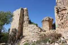 Fortaleza antigua Yehiam Fotografía de archivo